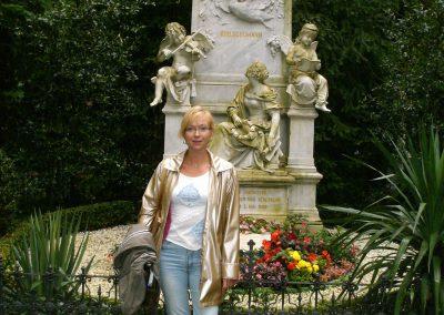 Tombe de Robert Schumann à Bonn