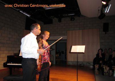 avec Christian Gerstmans