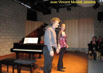 avec Vincent Mossiat, pianiste