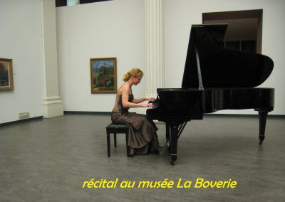 récital au musée La Boverie